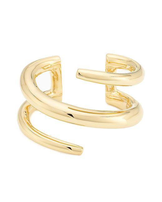 Jennifer Fisher | Metallic 14kt Gold Plated Cuff | Lyst