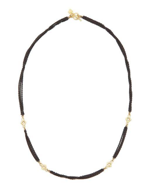 Armenta | Black Multi-chain Diamond Necklace | Lyst