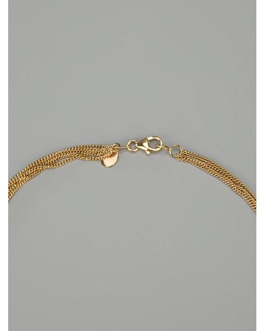 Wouters & Hendrix | Metallic 'knot' Tassle Necklace | Lyst