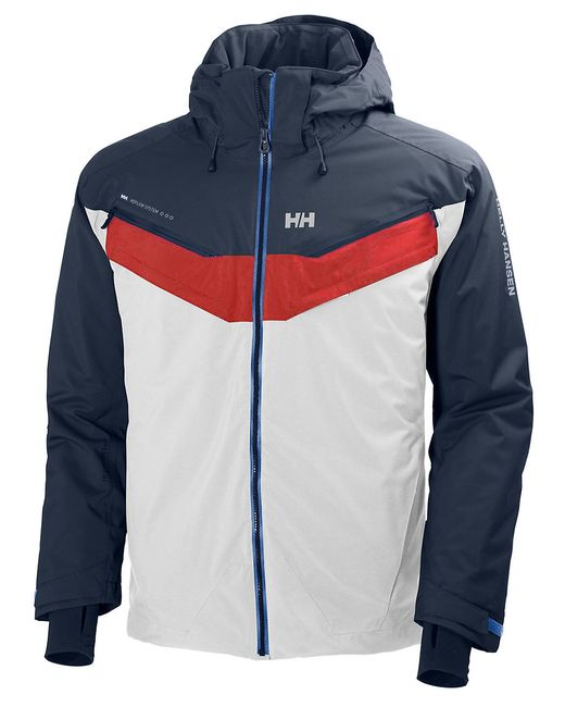 helly hansen blazing ski jacket in multicolor for men white save 61 lyst. Black Bedroom Furniture Sets. Home Design Ideas