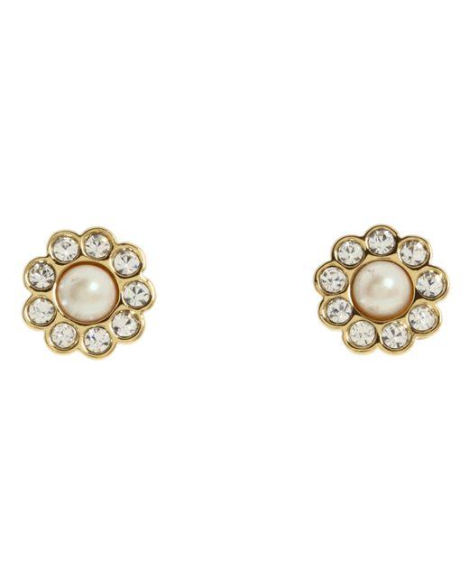 Kate Spade | Metallic Park Avenue Pearls Studs | Lyst