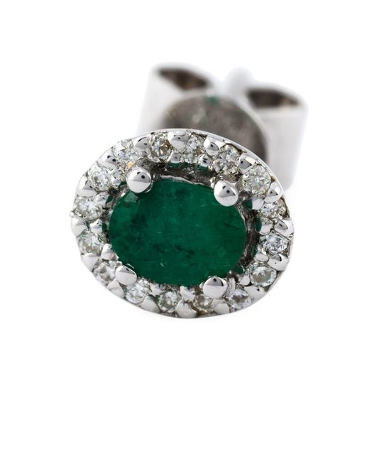 Wouters & Hendrix | Green Claw & Emerald Stud Set Of Earrings | Lyst