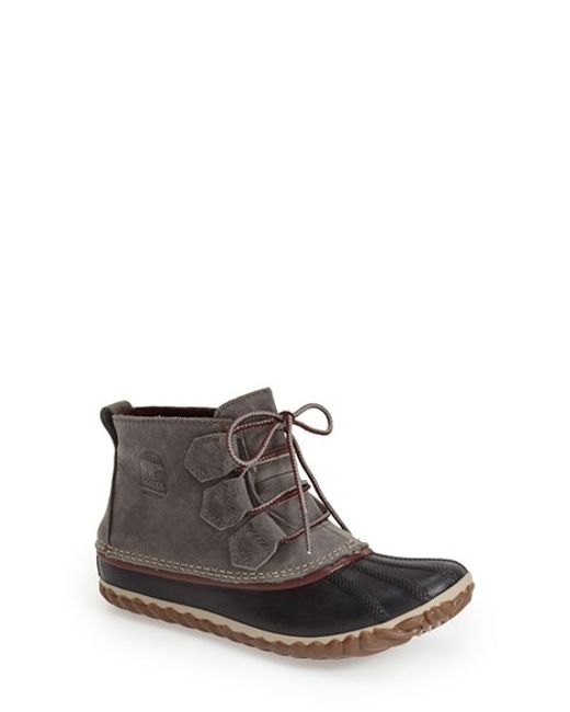 Sorel | Green 'out N About' Leather Boot | Lyst