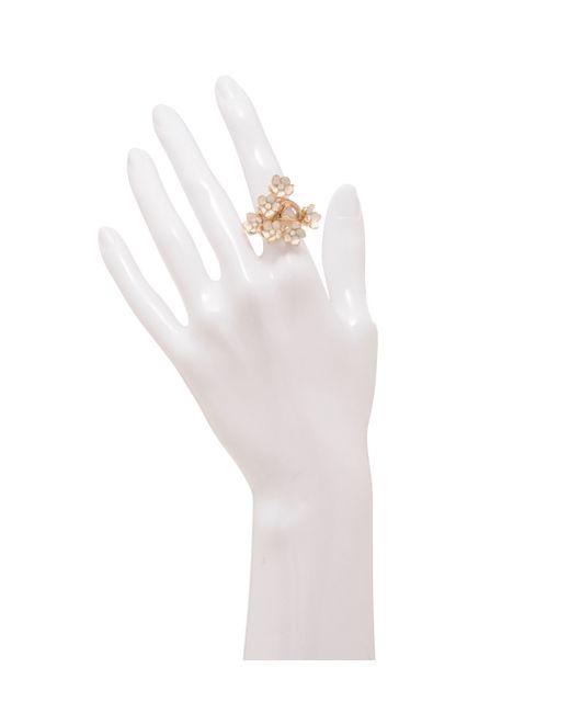 Shaun Leane | Metallic Full Blossom Rose Gold Ring | Lyst