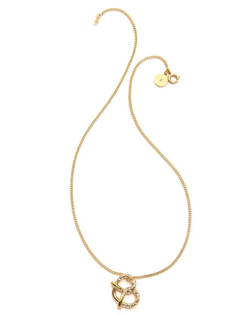 Marc By Marc Jacobs | Metallic Music Star Charm Necklace | Lyst