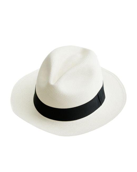 J.Crew | White Panama Hat | Lyst