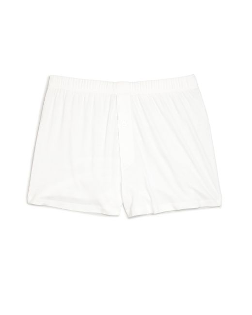 Hanro | White Sea Island Cotton Boxers for Men | Lyst