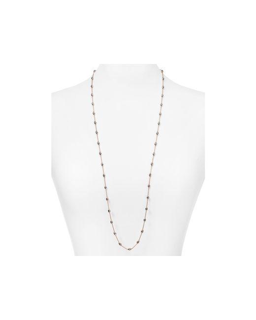 "Officina Bernardi | Pink Beaded Necklace, 36"" | Lyst"
