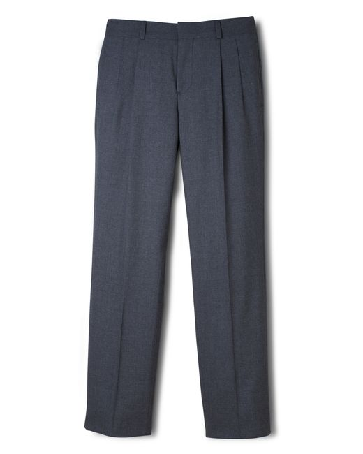Brooks Brothers | Gray Brooksease Prep Pleat-front Dress Trousers | Lyst