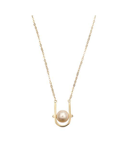 Valentino | Metallic Pearl Necklace | Lyst
