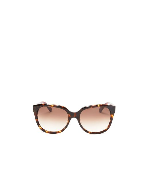 Kate Spade | Brown Bayleigh Square Sunglasses, 55mm - 100% Bloomingdale's Exclusive | Lyst