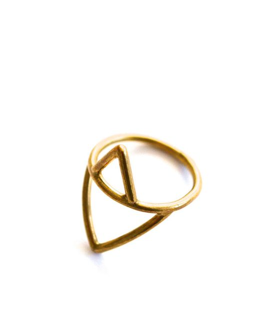 Forever 21 | Metallic Amarilo Alexa Ring | Lyst