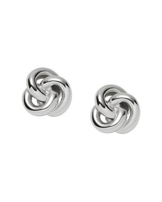 Fossil | Metallic Jf01363040 Ladies Earrings | Lyst