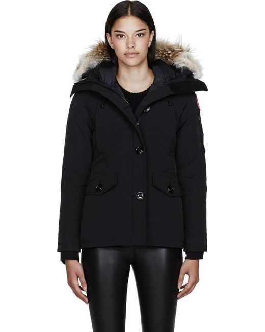 Canada Goose expedition parka sale 2016 - Canada goose Black Down and Fur Montebello Parka in Black | Lyst