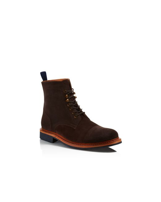 Hardy Amies | Brown Cap Toe Boots for Men | Lyst