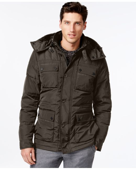 Michael Kors | Brown Michael Big & Tall Libson Parka for Men | Lyst