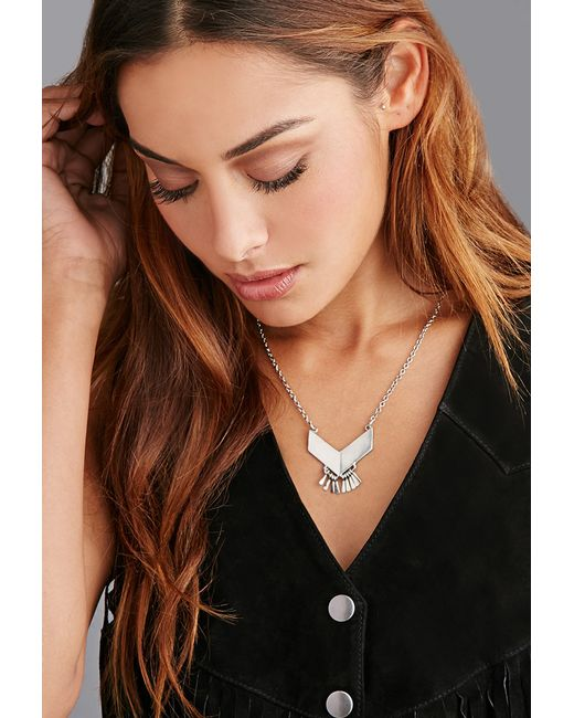 Forever 21 | Metallic The 2bandits Bradwell Necklace | Lyst