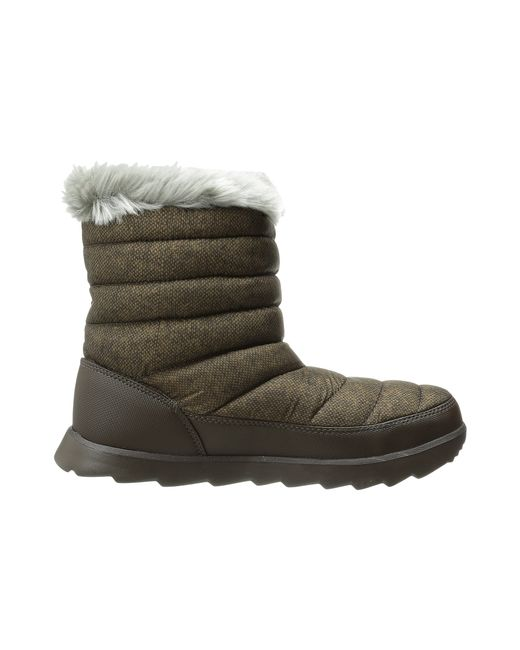 The North Face | Brown Thermoball™ Micro-baffle Bootie | Lyst