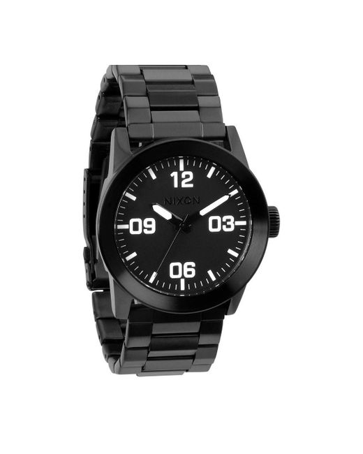 Nixon   Private Ss All Black Watch for Men   Lyst
