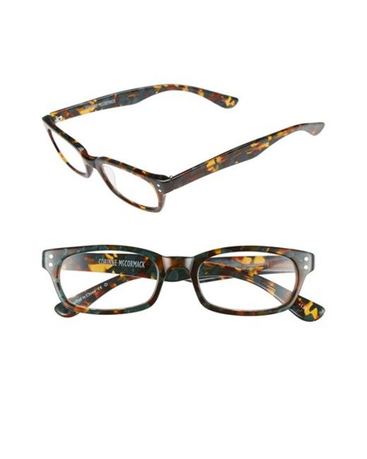 corinne mccormack 48mm reading glasses olive