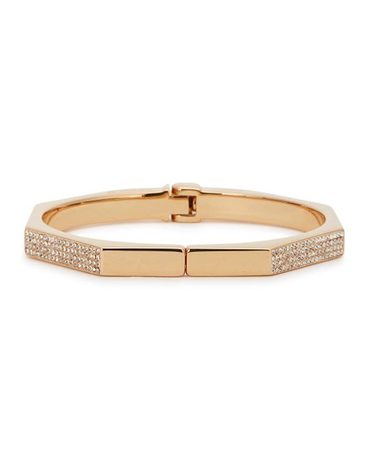 Vita Fede | Pink Mini Octagon Rose Gold-plated Bracelet | Lyst