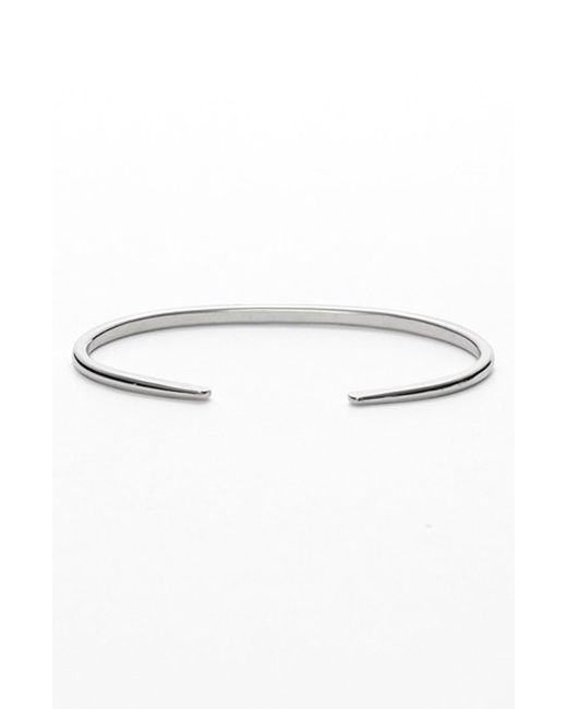 Nashelle | Metallic Ija 'simple' Skinny Cuff | Lyst