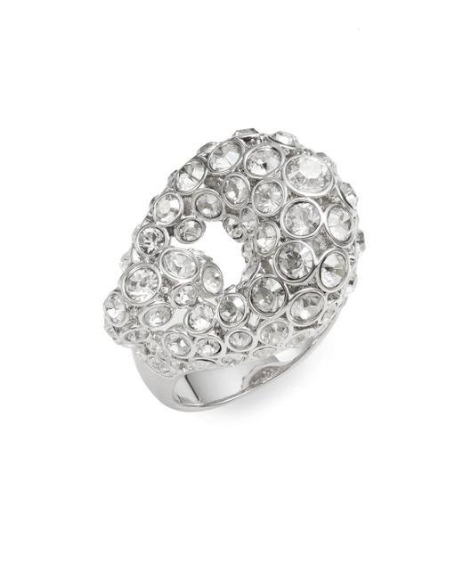 Swarovski | Metallic Rarely Crystal Ring | Lyst
