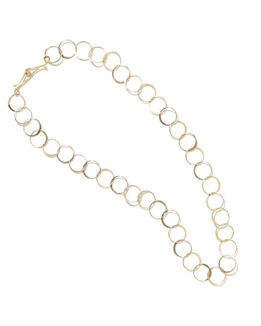 Melissa Joy Manning | Metallic 17 Inch Classic Hand Hammered Chain Necklace | Lyst