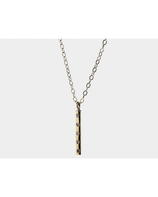 Lumo | Metallic Estelle Necklace | Lyst