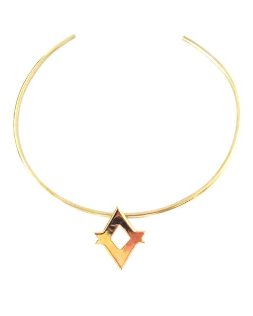 Jill Golden | Metallic Gemma Collar | Lyst