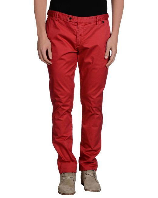 AT.P.CO | Red Casual Pants for Men | Lyst
