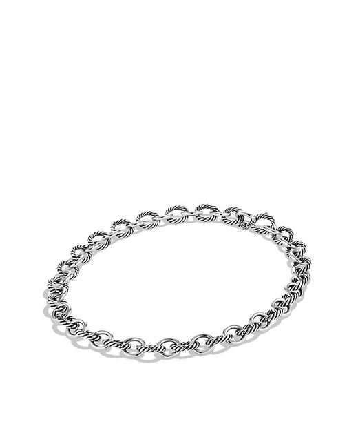 David Yurman | Metallic Large Oval Link Necklace | Lyst