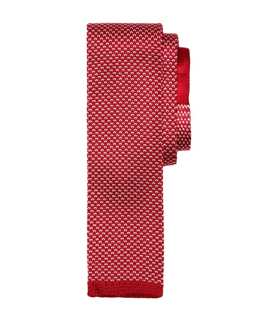 Brooks Brothers | Red Bird's-eye Knit Tie for Men | Lyst