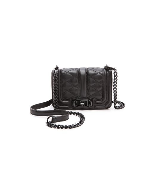 Rebecca Minkoff Love Crossbody Bag In Black Lyst