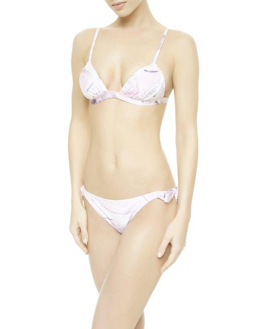 La Perla | Pink Bikini Briefs With Ties | Lyst