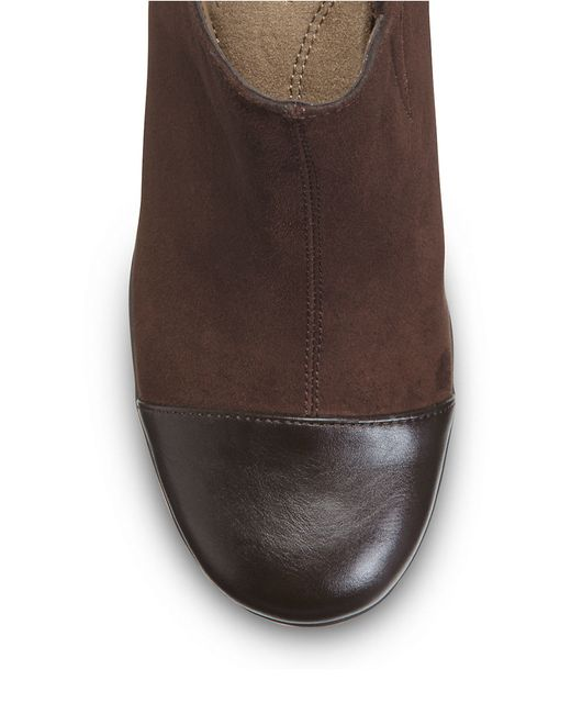 Aerosoles | Brown Commentary Platform Ankle Boot | Lyst