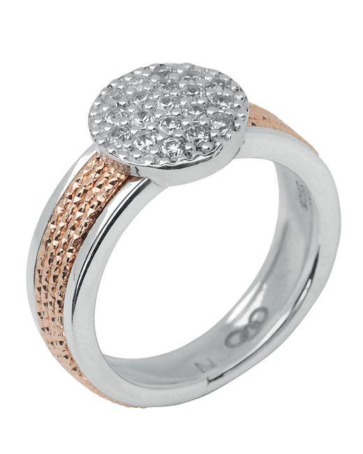 Links of London | Metallic Celeste Pave Rose Gold Ring | Lyst