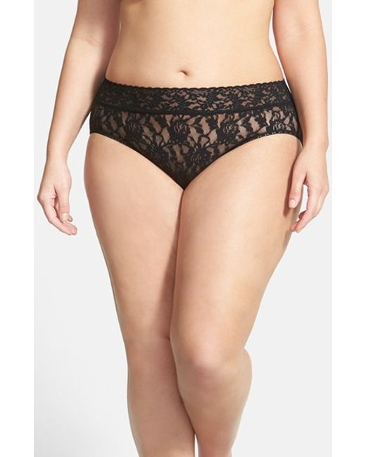 Hanky Panky | Black French Briefs | Lyst