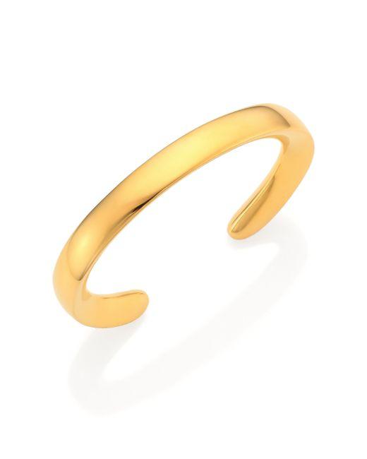 Maiyet   Metallic Signature Skinny Cuff Bracelet   Lyst
