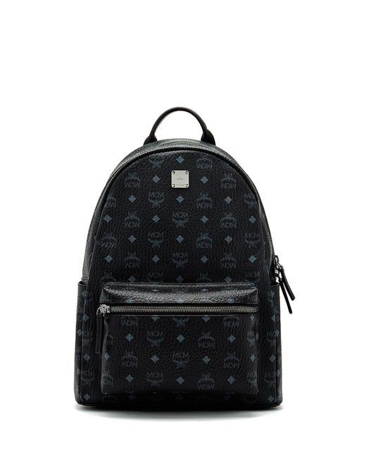 Mcm Stark No Stud Medium Backpack In Black Lyst
