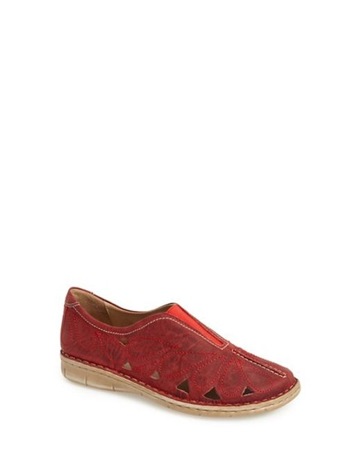 Josef Seibel | Red 'amanda 13' Loafer | Lyst