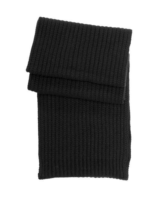HUGO   Black Scarf In New Wool: 'zaffano' for Men   Lyst
