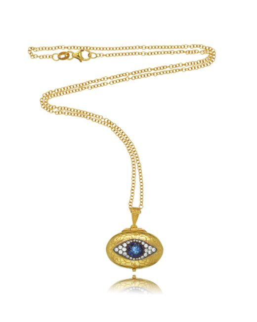 Arman Sarkisyan | Yellow Arman Evil Eye Locket | Lyst