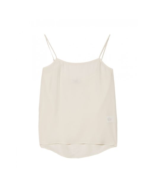 Equipment | White Ava Henley Blouse with Pockets | Lyst
