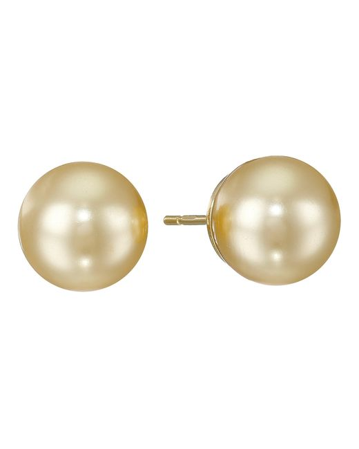Majorica | Metallic 10mm Ss Stud Earrings | Lyst