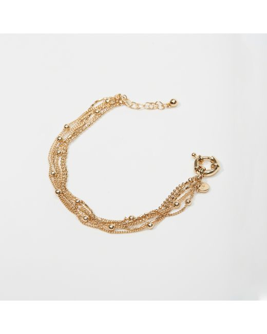 Abercrombie & Fitch   Metallic Delicate Bracelet   Lyst