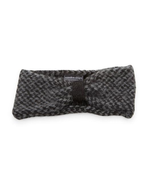 Wooden Ships | Black Marled Knit Headband | Lyst