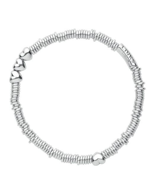 Links of London   Metallic Sweetie Xs Heart Bracelet   Lyst
