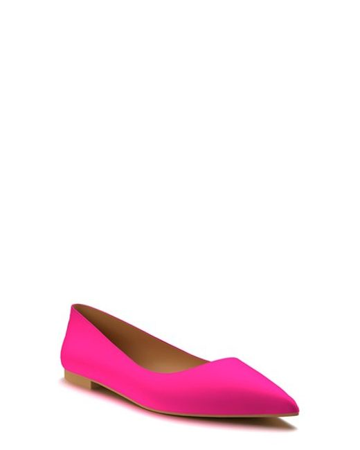 Find great deals on eBay for pink pointy toe flats. Shop with confidence.