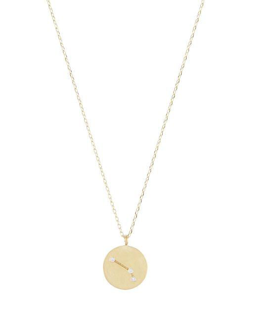 Accessorize - Metallic Aries Constellation Pendant Necklace - Lyst